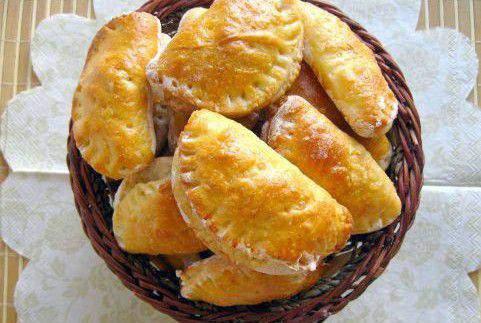 Рецепт пиріжків з персиками