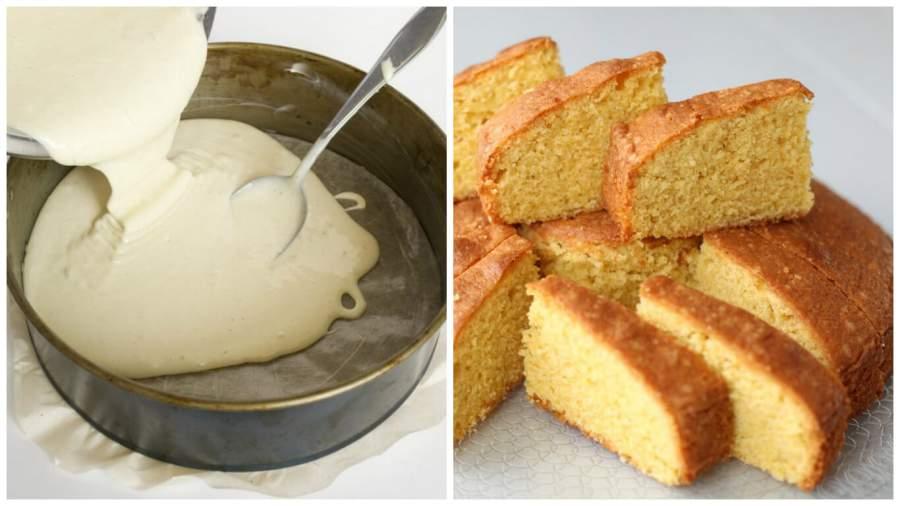 Как сделать бисквит с манкой