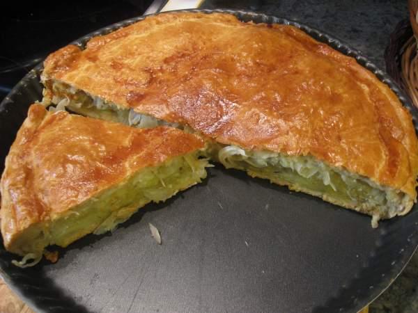тесто на пирог с картошкой в духовке