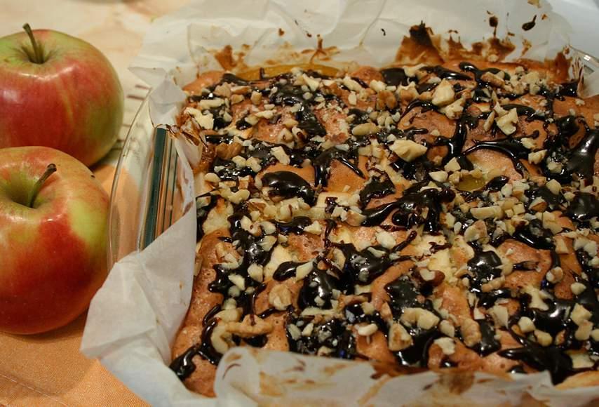 шарлотка с персиками рецепт с фото пошагово