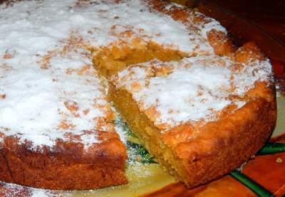 Пирог с тыквой и яблоками рецепт с фото пошагово